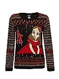 Alicia en el País de las Maravillas Alice Christmas Sweater Jersey caballero multicolor L
