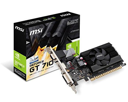 MSI Gt 7102GD3LP Grafikkarten NVIDIA GT 710954MHz PCI Express