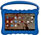 Kids BTC UK 7' Quad Core Tablet PC (1GB RAM, 8GB HDD, IPS display, Google Android 4.4, WIFI, USB, Bluetooth) - Blue