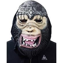 Takestop® Máscara Viso Mono Gorila Re Jinete Halloween Cosplay Disfraz Carnaval