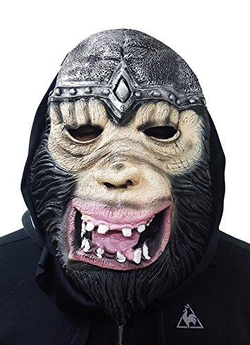 takestop® Maske Gesicht Affe Gorilla Re Ritter Halloween Cosplay Kostüm Karneval