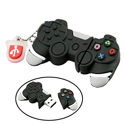 Chiavetta usb 2.0 da 16 gb divertente controller controller forma memory stick thumb drive gamepad joypad controller da gioco pendrive