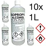 IPA 100% | 10 LITRE (L) | Lab Grade | Isopropyl Alcohol/Isopropanol (99%) | Hexeal Brand