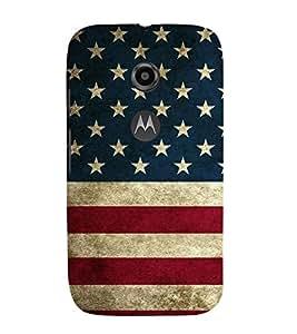 EPICCASE USA Mobile Back Case Cover For Moto E 2nd Generation (Designer Case)