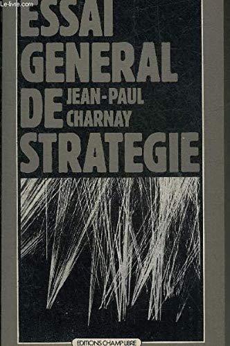 Essai général de stratégie