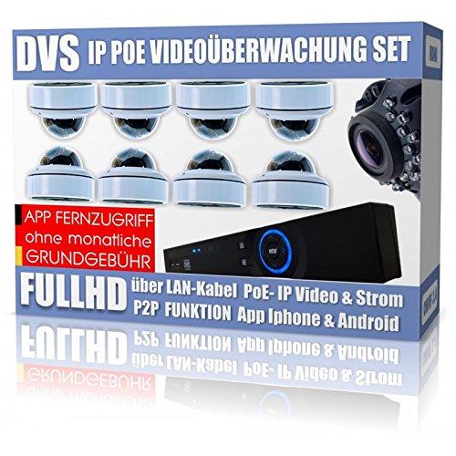 Dvs-Alemania--Video-Vigilancia-8-Cmaras-IP-Full-HD-24-Mega-Pixeles-berwachungsanlage--dvlc-de-ipc8set4--500-GB-disco-duro