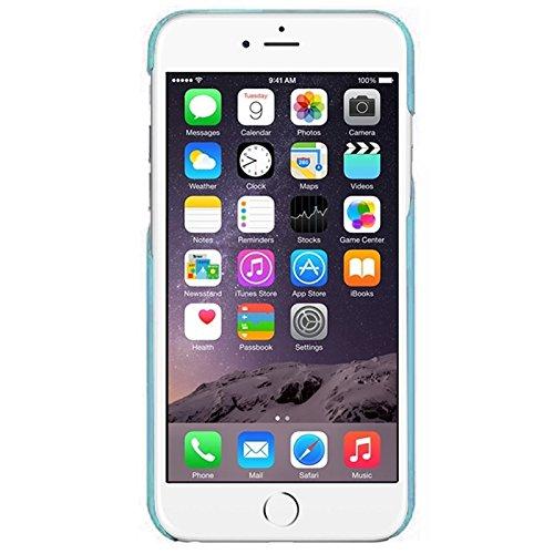 Phone case & Hülle Für iPhone 6 Plus / 6S Plus, 0,7 mm Ultra-Thin Polycarbonat Materialien PC Schutz Fall ( Color : Green ) Blue