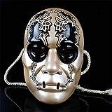 SXFMJ Máscara de Halloween Máscara de artesanía de Resina Fina Máscara de Resina de Alto Grado para Mascarada, actuación escénica, Bar, Club Nocturno, Fiesta de cumpleaños