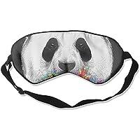 Comfortable Sleep Eyes Masks Panda Head Printed Sleeping Mask For Travelling, Night Noon Nap, Mediation Or Yoga preisvergleich bei billige-tabletten.eu
