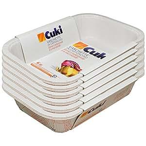 Cuki vaschette in cartoncino forno tradizionale e a microonde 2 3 porz rettangolari rc63 - Forno tradizionale e microonde insieme ...