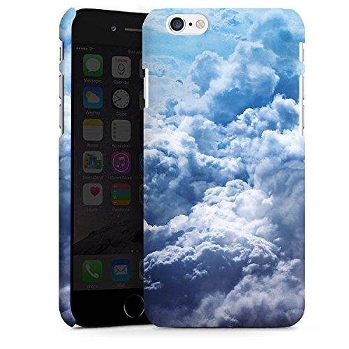 Apple iPhone X Silikon Hülle Case Schutzhülle Wolken Himmel Landschaft Premium Case matt