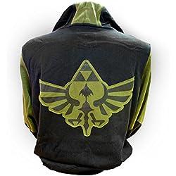 The Nintendo: Legend Of Zelda - Zelda (Felpa Con Cappuccio Unisex Tg. S)