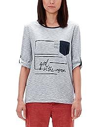 s.Oliver 3/4 Arm, T-Shirt Femme