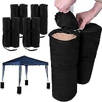 Juego de pesos para carpa para rellenar con arena – 15 kg por elemento- 4 elementos con 2 sacos cada uno