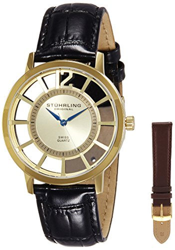 51nLkvEK6zL - Stuhrling Original Classic Gold Mens 388S.333531 watch