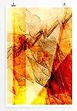 Let's Go - modernes abstraktes Bild Sinus Art - Bilder, Poster und Kunstdrucke