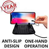 #8: Blackcat Anti-slip Mobile Holder with Magnetic cable and silicone stand (1yr warranty)