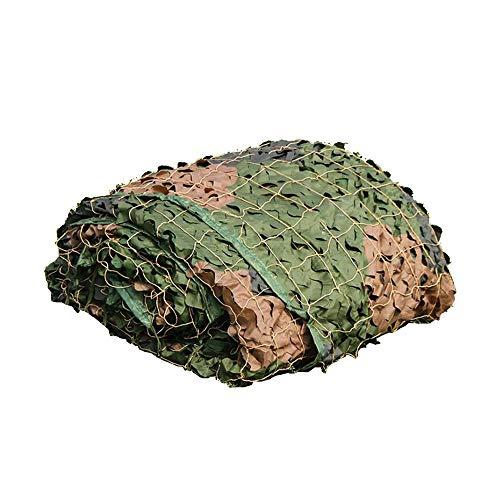 Xiaolin Desert Camo Netting Red de Camuflaje Militar para Acampar, Caza, Tiro, Redes de protección Solar (Tamaño : 4x6m)