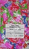 KARNEVAL WURFMATERIAL 2000 stk. SUPER TATTOO KAUGUMMI MIX