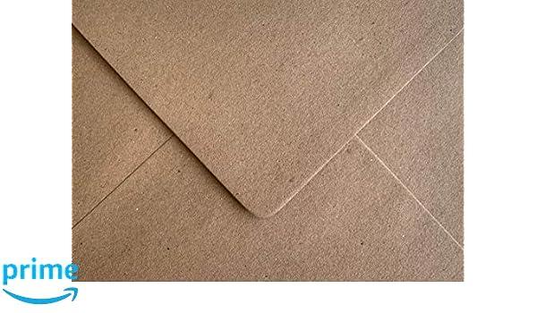 "5/"" x 7/"" Brown Recycled Fleck Kraft Envelopes 110gsm FREE P/&P 133 x 184mm"