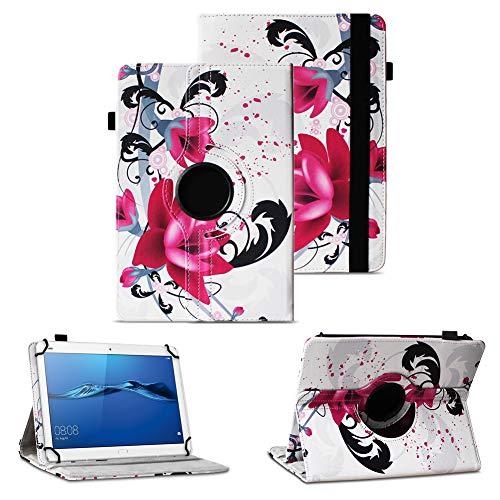NAUC Tablet Tasche für Huawei Mediapad X2 Hülle Schutzhülle Cover Schutz Case Drehbar, Farben:Motiv 7