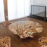 Suchergebnis auf f r treibholz tisch k che for Design couchtisch nature lounge teakholz mit runder glasplatte beistelltisch
