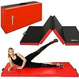 Eyepower 8 cm Gymnastikmatte 200x100cm Turnmatte Sportmatte Weichbodenmatte Rot