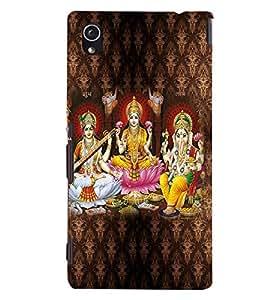 PRINTVISA Religious Diwali Case Cover for Sony Xperia M4 Aqua