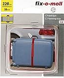 fix-o-moll Klett-Gurt Maxi XL 38 mm 220 cm rot, 3563023