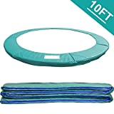 Greenbay 10FT Replacement Trampoline Surround Pad Foam Safety Guard Spring Cover Padding Pads Green