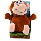 Kögler 75611 - Laber - Affe, der alles nachplappert - Plüsch