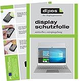 dipos I 2X Schutzfolie matt passend für Jumper EzBook 3 Plus Folie Displayschutzfolie