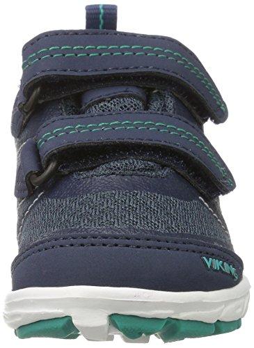 Viking Veme Vel Gtx, Chaussures Multisport Outdoor mixte enfant Blau (Navy/Green)