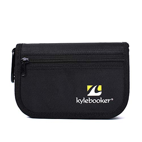Kylebooker sacchetto di richiamo pesca stoccaggio di accessori per pesca con esche artificiali multifunzionali per pesca a mosca