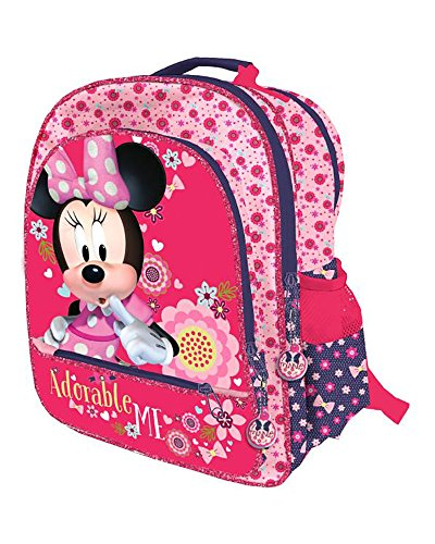 Disney Minnie Mouse AS065/AST0936 - Disney Minnie Mouse Licencia Mochila Infantil, 41 cm, Multicolor