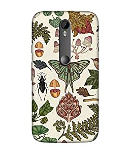 Motorola Moto G Turbo Designer / Printed Back Cover -(illustration)