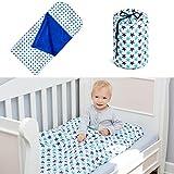 Schlafsack für Kleinkinder 3-6/7 Jahre, 140x70 cm, Modell: Seesterne