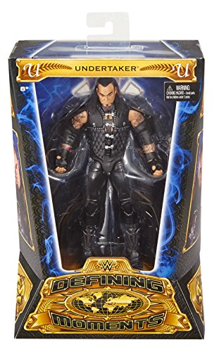 WWE World Wrestling Entertainment Spielzeug –  Defining Moments Undertaker Deluxe-Actionfigur, 15,2 cm groß