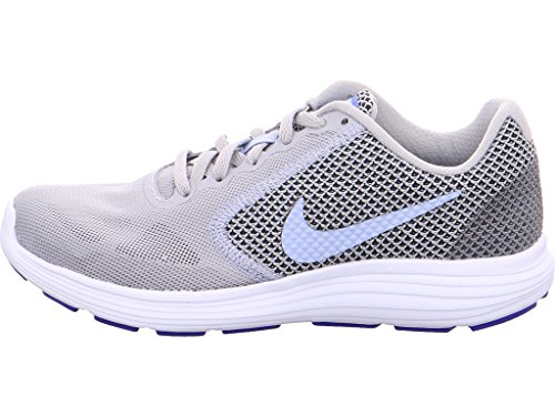 Nike Damen Wmns Revolution 3 Laufschuhe Grau