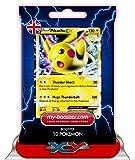 PIKACHU EX XY174 130HP XY11 - Booster mit 10 Englisch Karten Pokemon my-booster