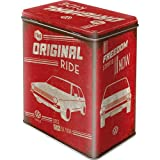 Nostalgic-Art 30132 Volkswagen - VW Golf - The Original Ride, Vorratsdose L