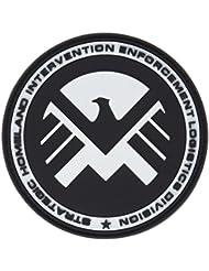Eagle Marvel Team SHIELD AGENT Noir PVC Airsoft Patch