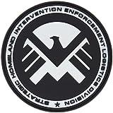 Marvel Team-MAIL Escudo de Eagle Águila Airsoft PVC Parche de Velcro
