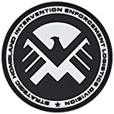 Eagle Marvel Team Shield Agent Nero Patch PVC Toppa