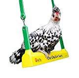 Fowl Play Products, The Chicken Swing, Chicken Toy ,13100, Country Corn, 1 , Yellow Green & Brown by Fowl Play Products