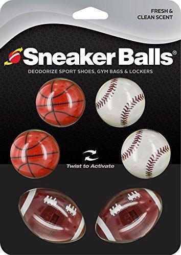 Sneaker Balls Sport Balls, Schuhdeo, Lufterfrischer, Sneakerballs für Schuhe, Sporttaschen & Spinde (Bowling Ball Taschen)