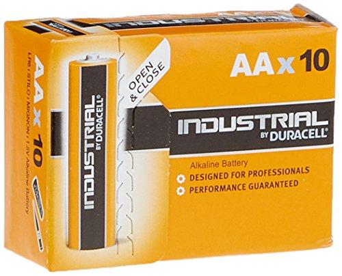50x DURACELL Industrial Alkaline Batterie MN1500 AA