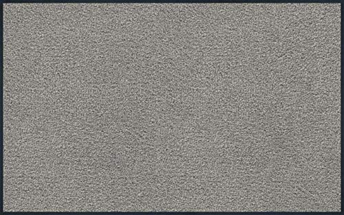 wash+dry Fußmatte Hellgrau 75x120 cm
