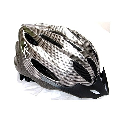 Price comparison product image Sport Direct Mens Bicycle Helmet Graphite 58-60cm