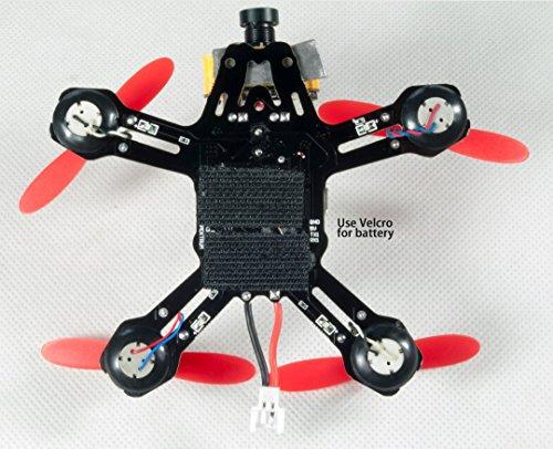 RJX 95mm Brush FPV Racing Quadcopter Drone Kit (Unassembled)